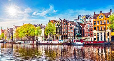 Case iconiche di Amsterdam