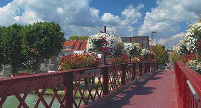 Ponte in ferro battuto, Borgogna