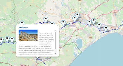 Mappe interattive con i principali punti di interesse