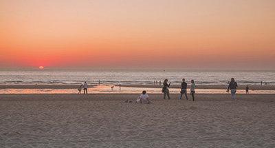 Spiaggia in Belgio