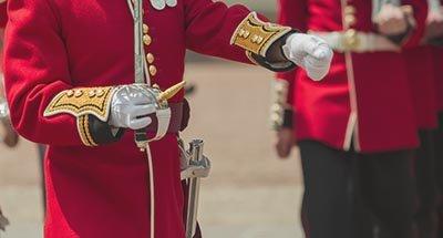 Soldato della guardia britannica
