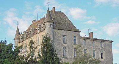 Castello di Hamel in Aquitania