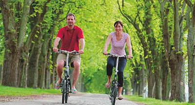 Escursione in biciclettain Germania