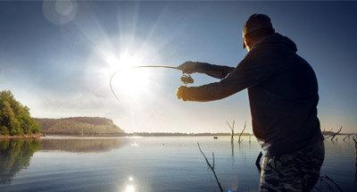 Pesca nei laghi Rideau