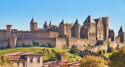 Storica città medievaledi Carcassonne