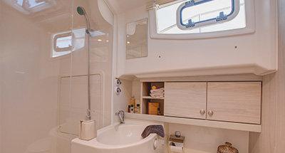 Cabine e bagni della Horizon 4