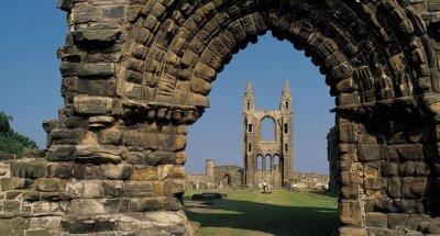 Esplorare un vero castello scozzese
