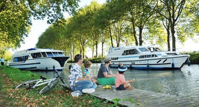 Vacanza in houseboat sul Canal du Midi