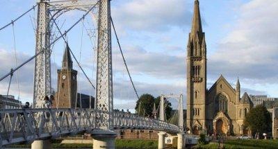 La città di Inverness