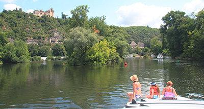 Sport acquatici sul fiume Lot