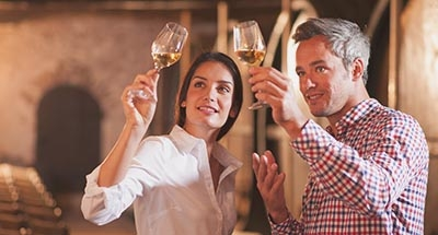 Degustazione di vini sul Canal du Midi
