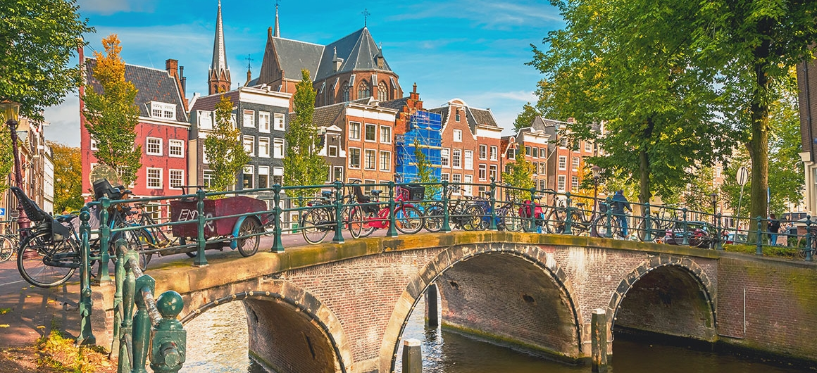 Pontee biciclette, Amsterdam
