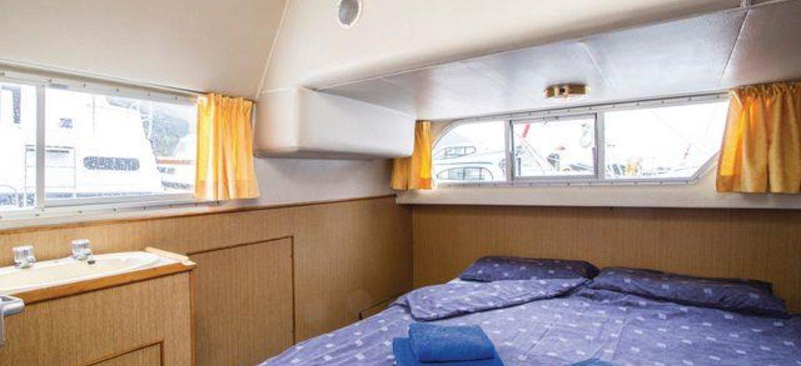 Braemore WHS - cabina a poppa