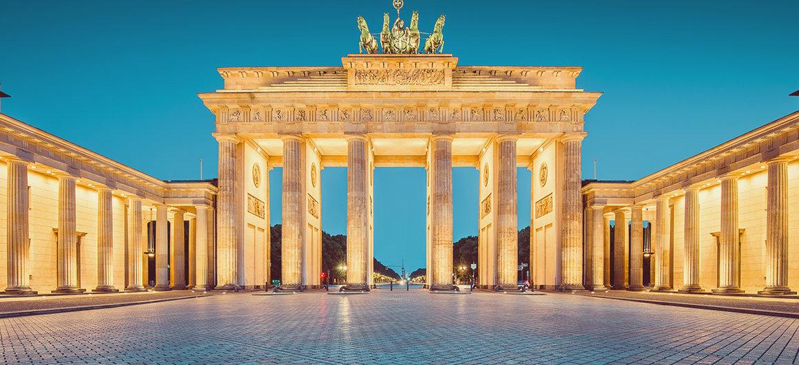 Porta di Brandeburgo, Berlino, Germania