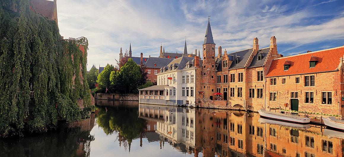 L'affascinante città di Bruges,Belgio
