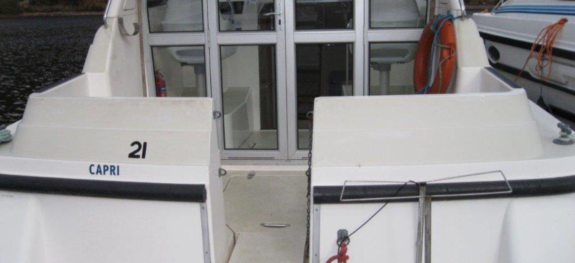 Capri WHS - esterno della poppa