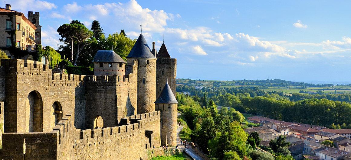 Vedutadi Carcassonne, Canal du Midi