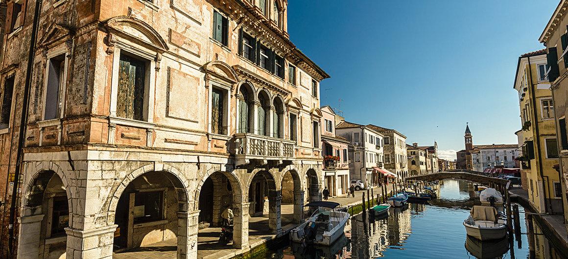Città costiera di Chioggia