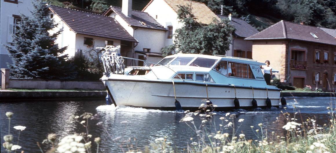 Il modello Riviera della Crown Blue Line