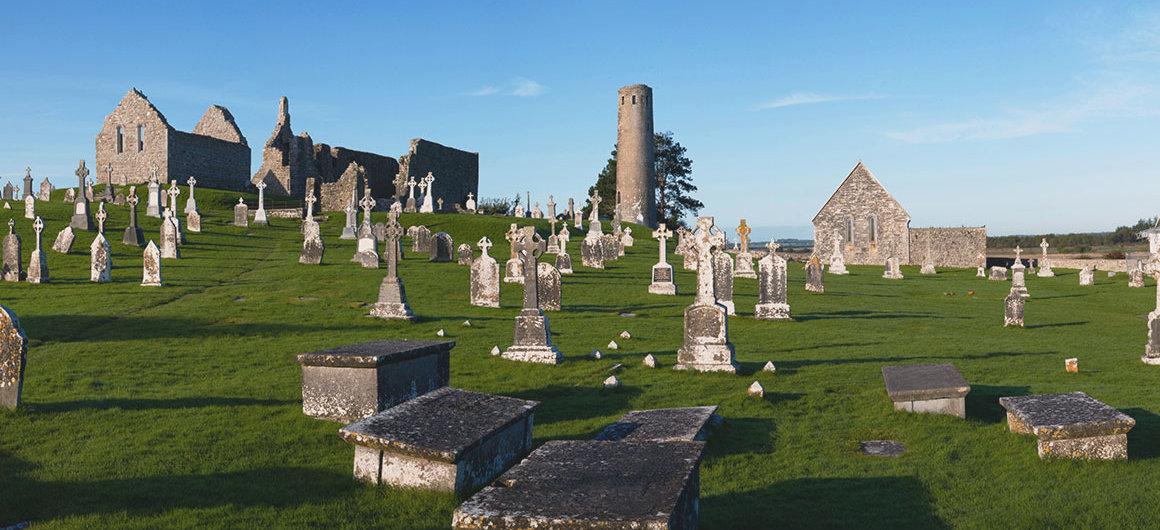 Clonmacnoise, Irlanda