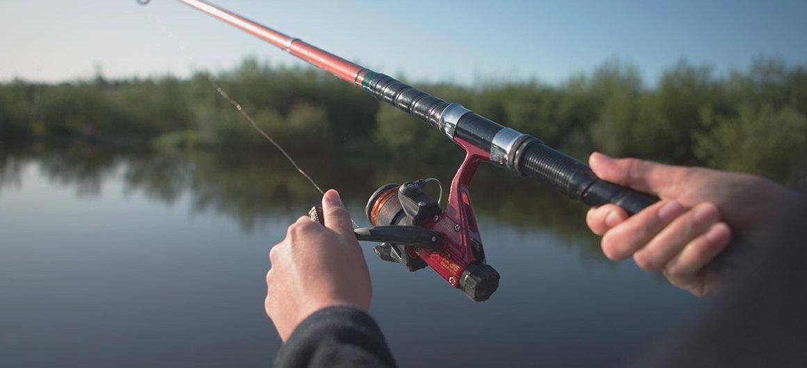 Pesca sul fiume Shannon