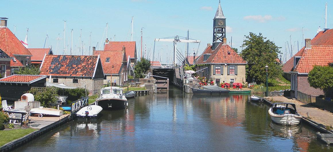 Chiusa a Hindeloopen, Paesi Bassi