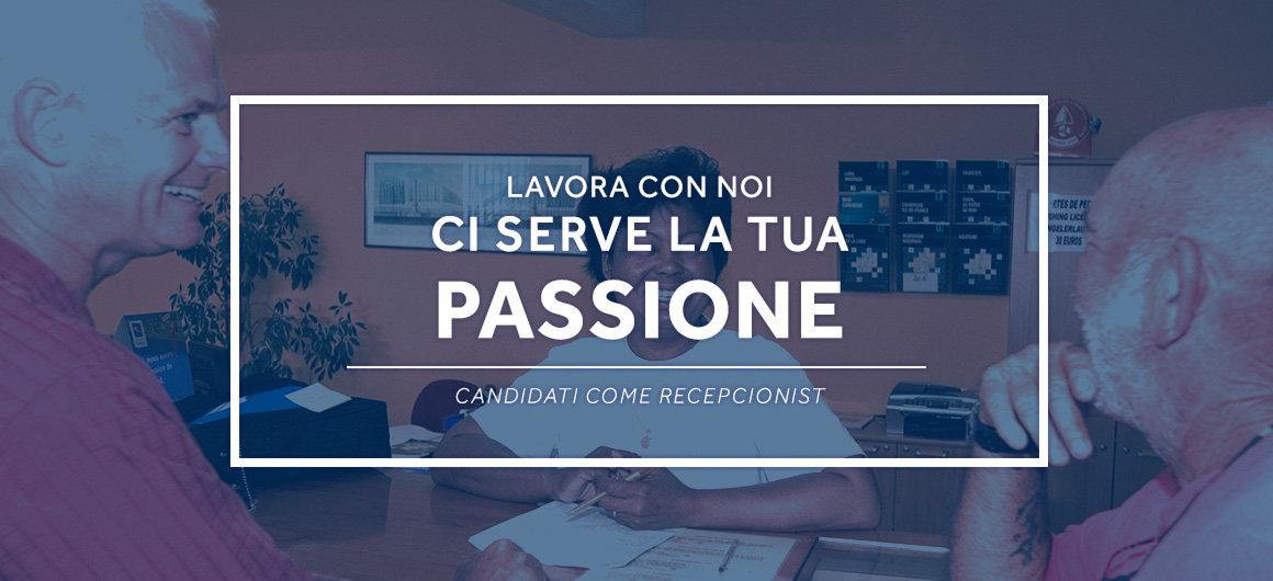 Ci serve la tua passione