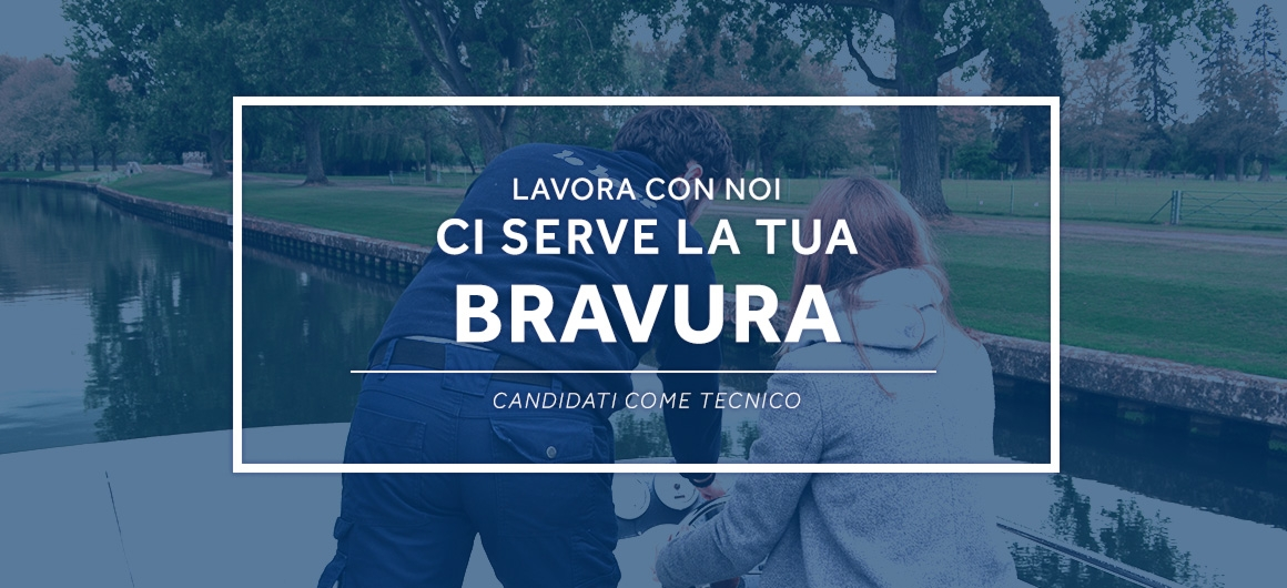 Ci serve la tua bravura