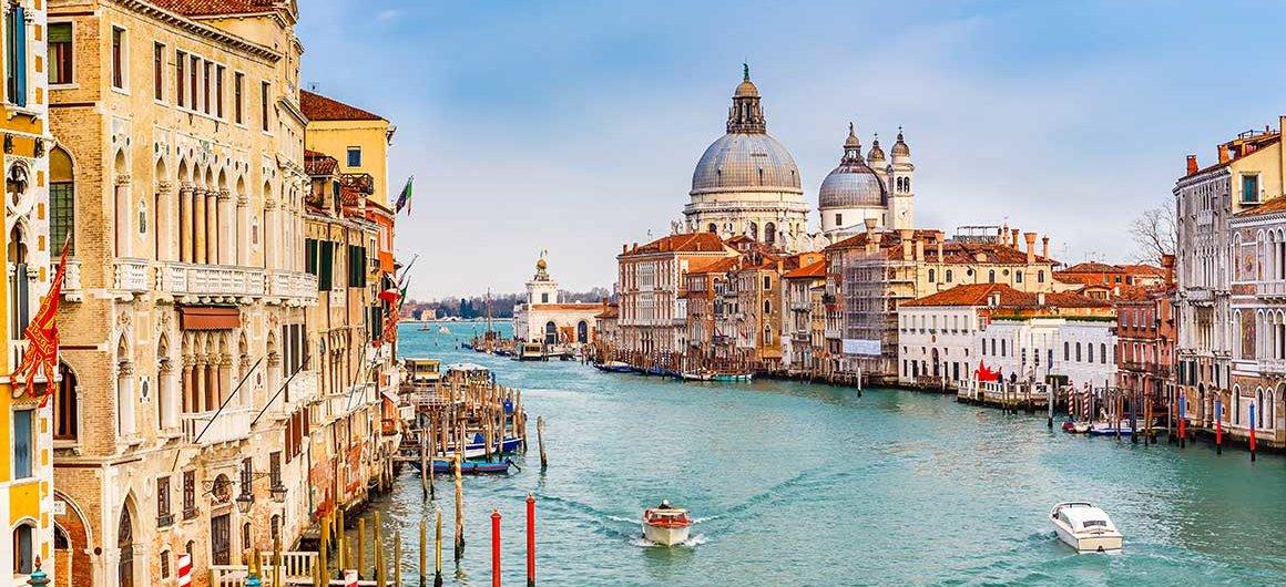 Il Canal Grande, Italia