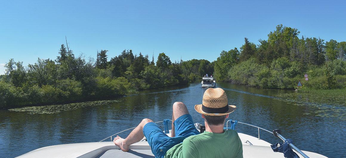 Navigazione in Canada