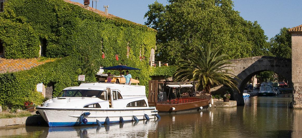 Barca Le Boat a LeSomail, Canal du Midi