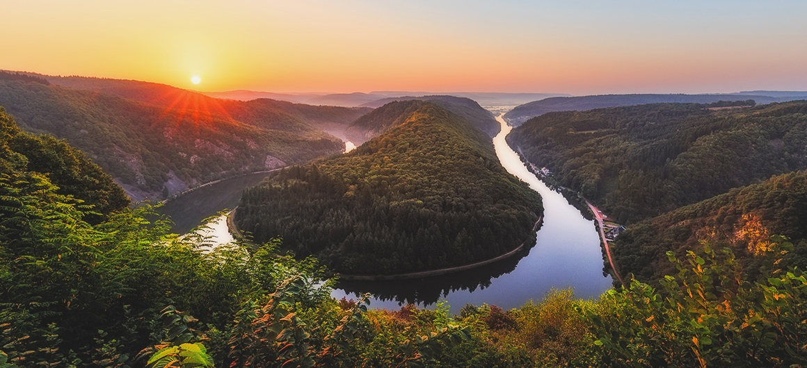 I meandri del fiume Saar