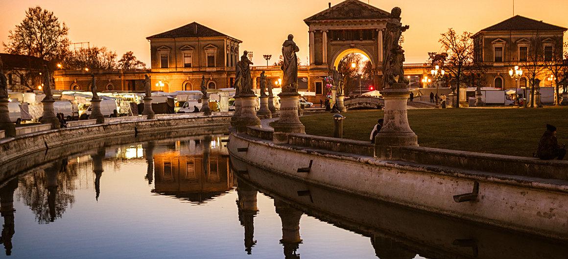 Prato della Valle a Padova