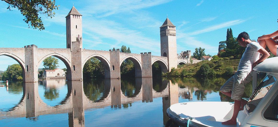 Ponte Valentré nel Lot