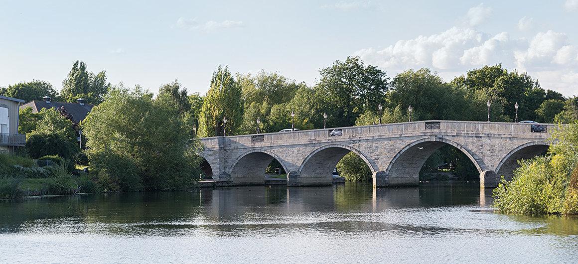 Ponte nei pressi di Windsor, Tamigi
