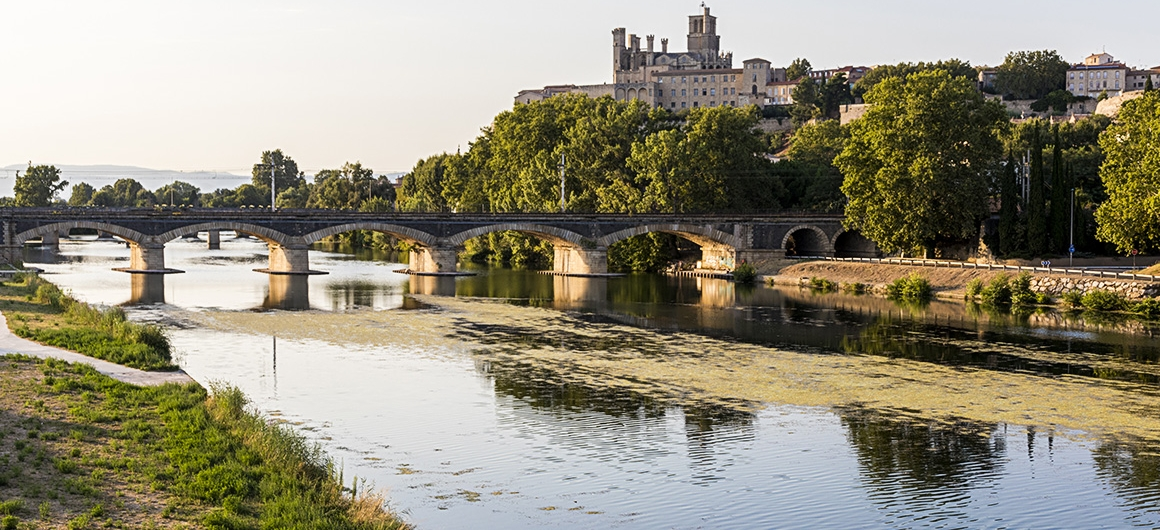 Fiume a Béziers