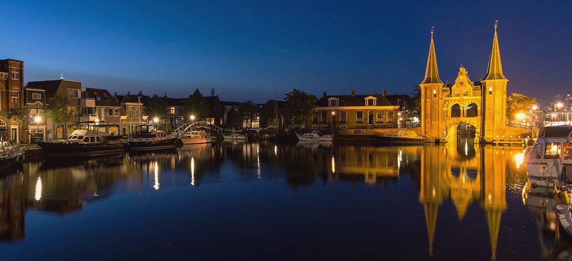 "LaWaterpoort(""Porta sull'acqua"") aSneek, Paesi Bassi"