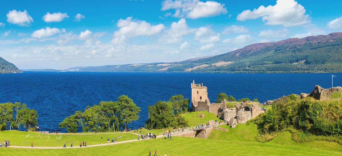 Castello di Urquhart, Loch Ness