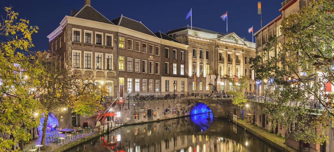 Il canale di notte, Utrecht