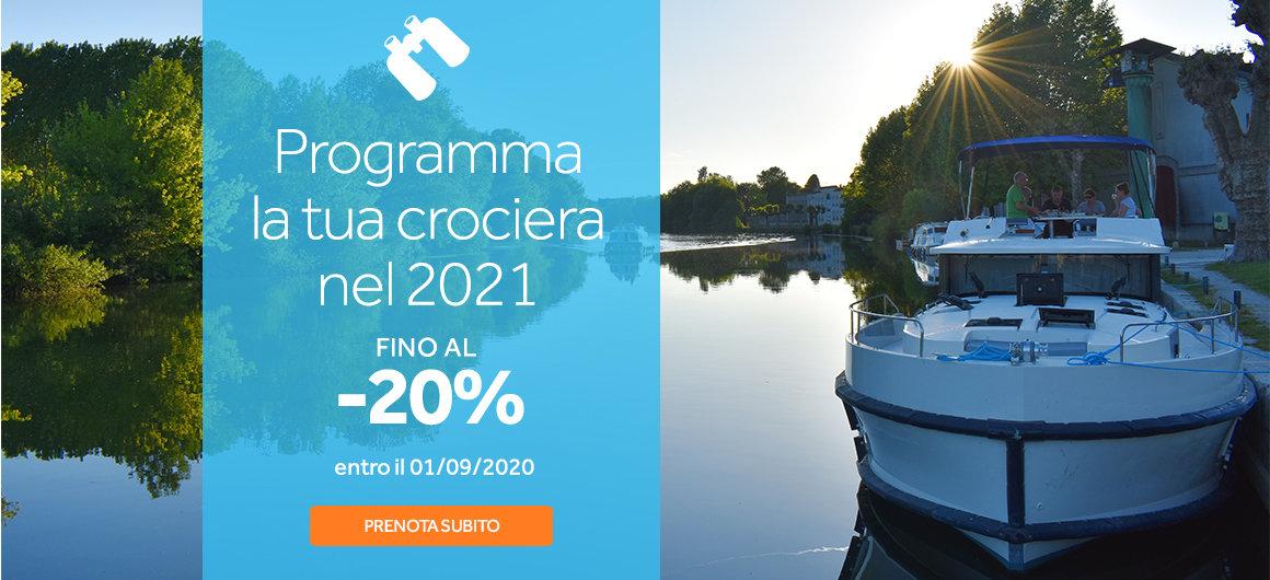 Programma la tua crociera nel 2021 con Le Boat