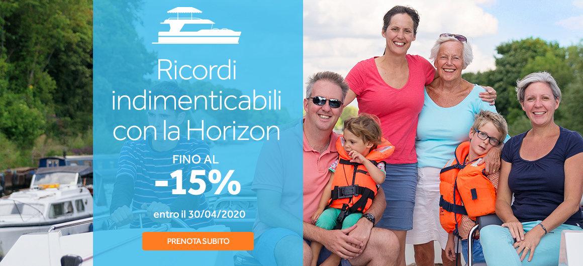 La nostra flotta Premium Horizon