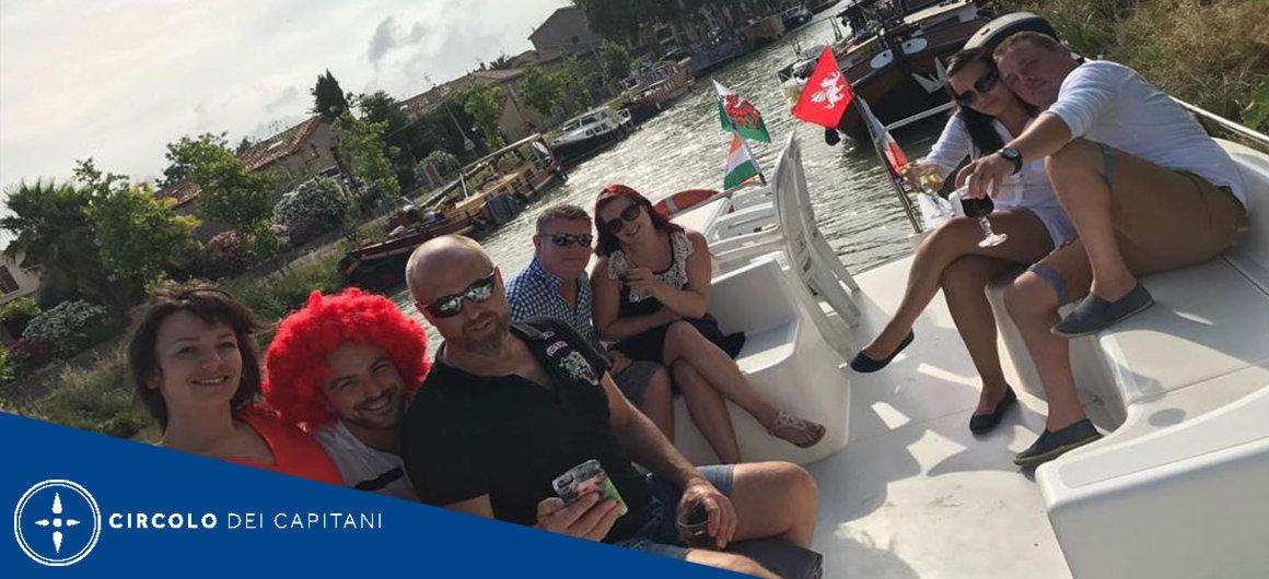 Capitano Mike sul Canal du Midi