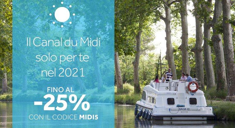 Il Canal du Midi solo per te nel 2021