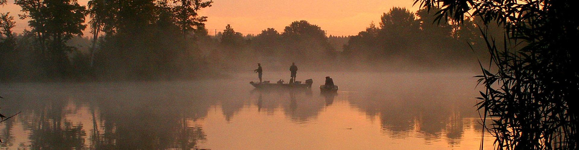 Pesca sul lago