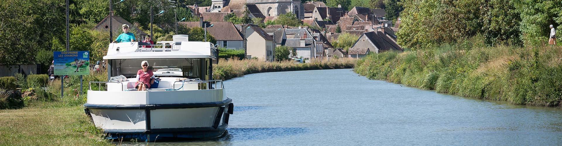 Noleggio Barche senza patente Borgogna