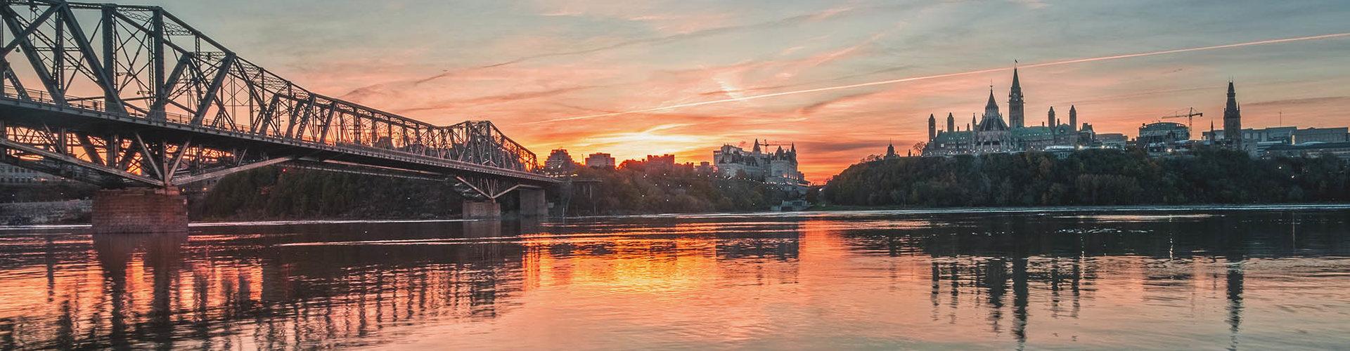 Ottawa tramonto