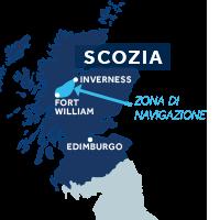 Cartina Scozia Pdf.Canale Di Caledonia E Loch Ness Vacanze In Barca Le Boat