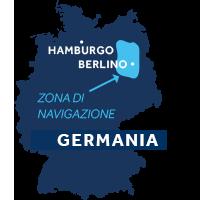 Mappa zona navigazione Germania