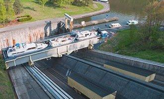 Ascensore per barche di Arzviller, Alsazia