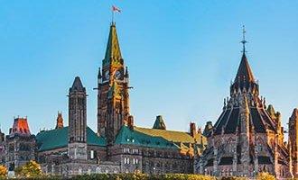 Parliament Hill a Ottawa